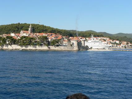 FOTKA - ostrov Korčula z moře