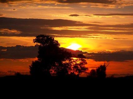 FOTKA - Ráno raníčko když jsem vstala sluníčko  foťáčem jsem přivítala