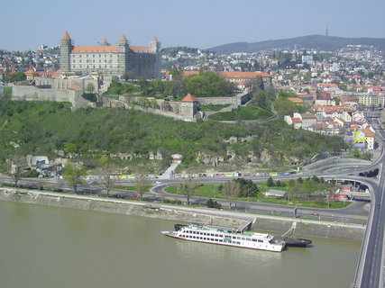 FOTKA - Bratislava z mostu SNP