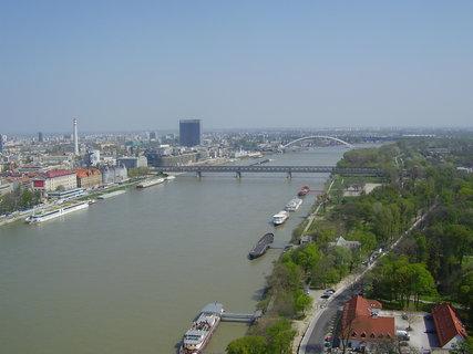 FOTKA - Bratislava z mostu SNP  ..