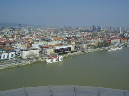 FOTKA - Bratislava z mostu SNP  ...