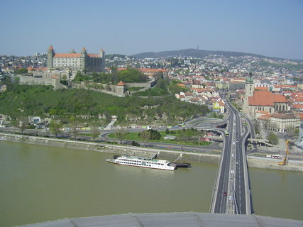 FOTKA - Bratislava z mostu SNP  ....