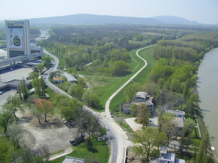 FOTKA - Bratislava z mostu SNP  .....
