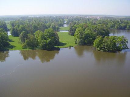 FOTKA - Dunaj z mostu SNP po jarních záplavách