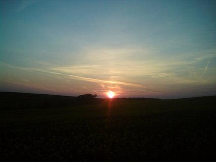 FOTKA - Západ slunce nad obzorem
