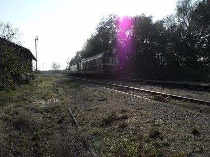 FOTKA - zátiší s vlakem :-)