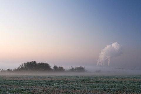 FOTKA - Ranní mlhy u Vtelna