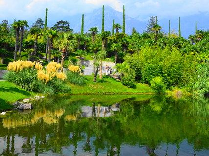 FOTKA - V meranských zahradách