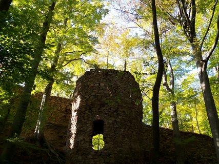 FOTKA - Gotická  zřícenina hradu Oheb.