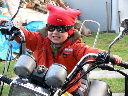 FOTKA - Tomík motorkář