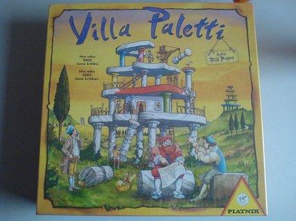 FOTKA - výhra - společenská hra Villa Paletti
