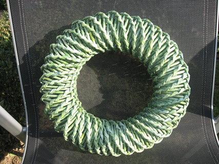 FOTKA - zelený věneček