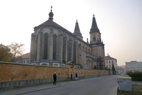 FOTKA - Chrámová loď kostela Narození Panny Marie