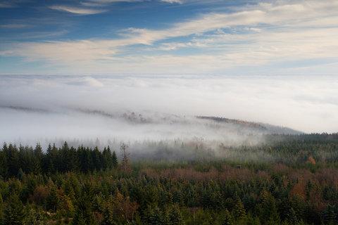 FOTKA - Mlha pod Meluzínou