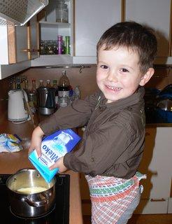 FOTKA - Kuchár...Tomulka si vaří puďu