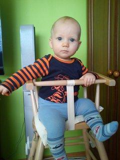 FOTKA - V židličce