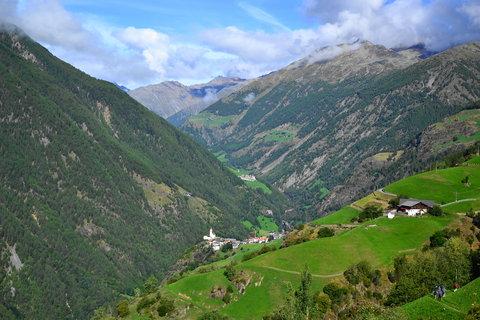 FOTKA - Panenské údolí Senales