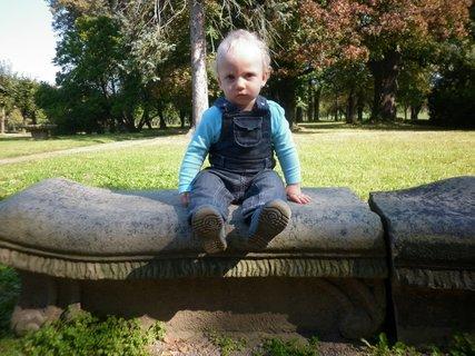 FOTKA - V zámecké zahradě