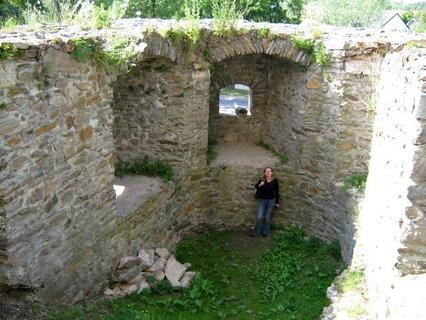 FOTKA - Zámek Polná - hradby