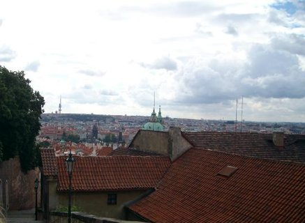 FOTKA - Výhled na pražské střechy