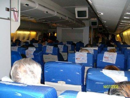 FOTKA - 30 minut před přistáním