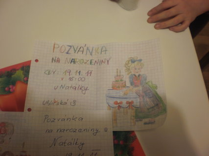 FOTKA - pozvánky na narozeniny V