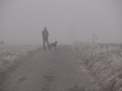 FOTKA - Venku 17.11. - mlha a mráz