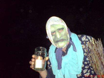 FOTKA - strašidlo na lampionovém průvodu