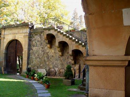 FOTKA - Nádvoří hradu Šternberk