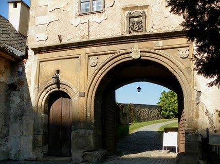 FOTKA - Vstupní brána na hrad Šternberk