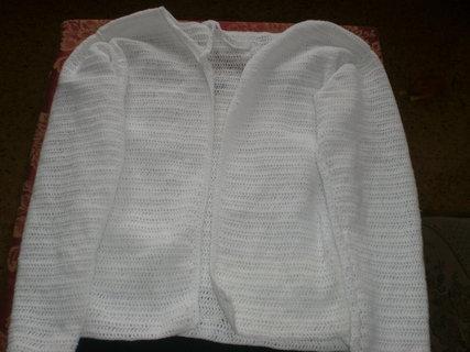 FOTKA - Bílý svetřík na léto