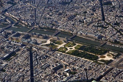 FOTKA - Paříž shora
