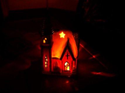 FOTKA - vánoční kostelík...