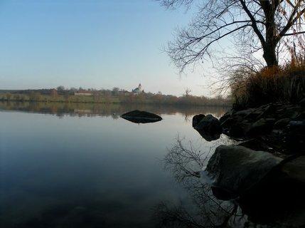 FOTKA - Zima u rybníku