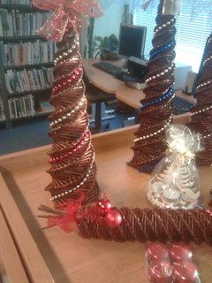 FOTKA - V knihovně - vánoční výzdoba