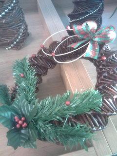 FOTKA - V knihovně - vánoční výzdoba.