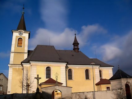 FOTKA - Kostel v Novém Hrádku