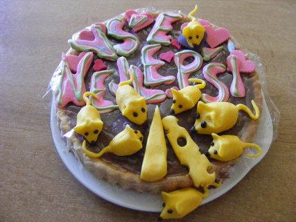 FOTKA - pro myšičku dortík