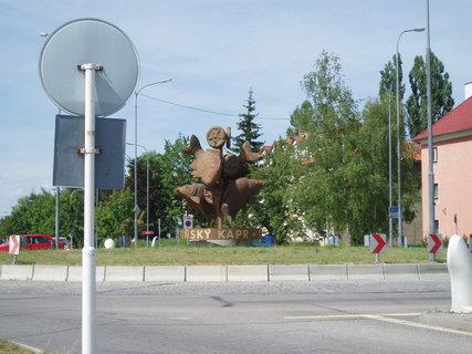 FOTKA - třeboňský kruhový objezd