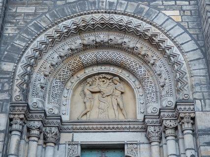 FOTKA - výzdoba kostela sv. Cyrila a Metoděje v Karlíně