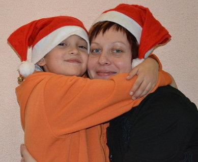 FOTKA - maminka a synáček