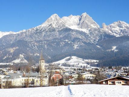 FOTKA - Pohled na Saalfelden z vyhlídky Mühlrain 7