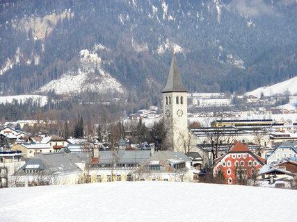 FOTKA - Pohled na Saalfelden z vyhlídky Mühlrain 9