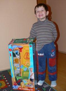 FOTKA - muj darek k narozeninam..vybral jsem si uklizeci sadu
