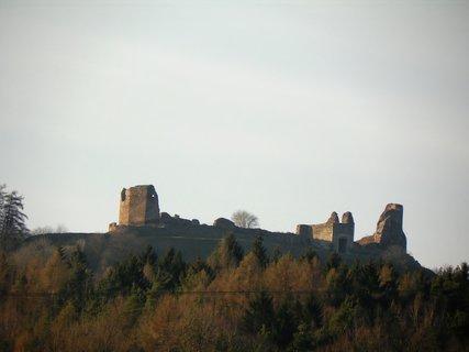 FOTKA - Zřícenina hradu Lichnice-prosinec