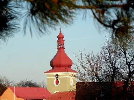 FOTKA - Věž kostela na Seči