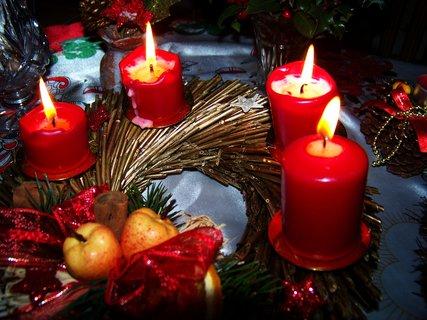 FOTKA - advent - poslední svíce zapálena,,....