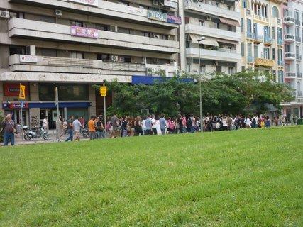 FOTKA - Demonstrace studentů v Soluni III
