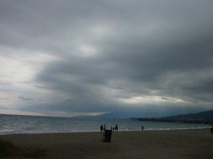 FOTKA - Mraky nad mořem