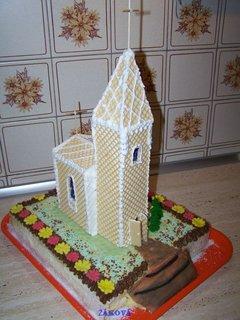 FOTKA - dort kostelík